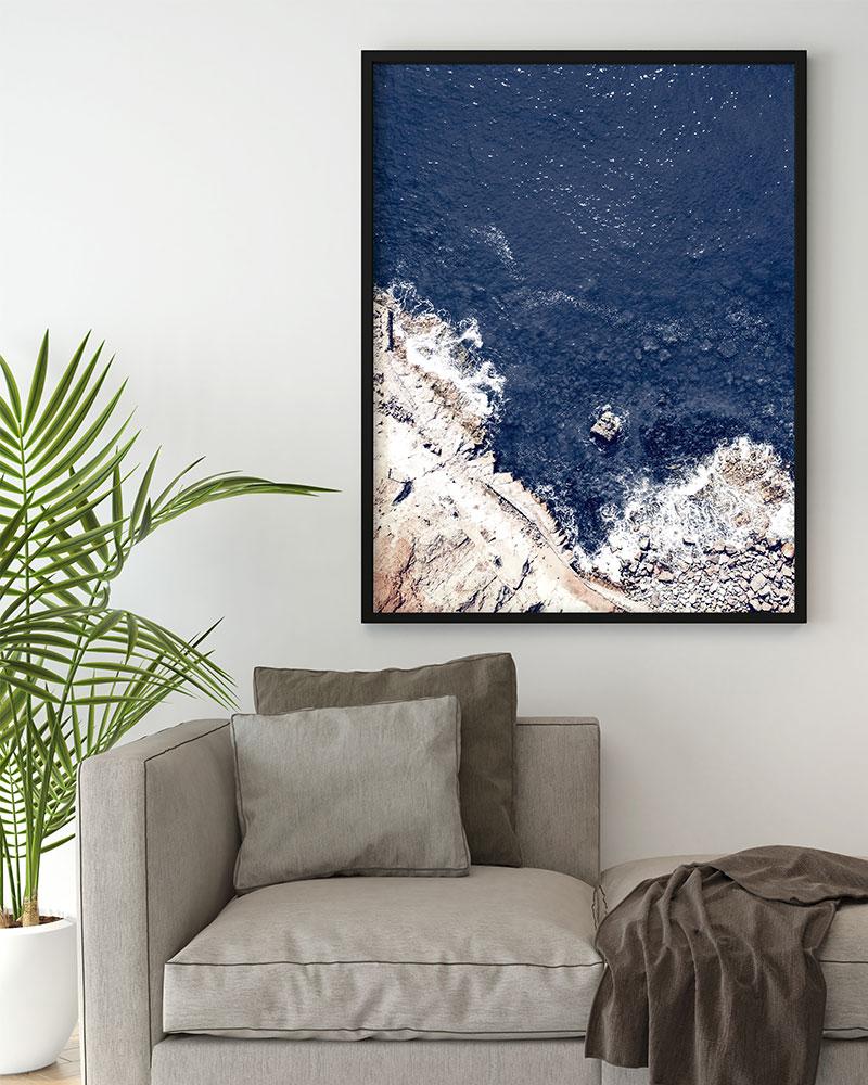 Quadro Oceano Azul