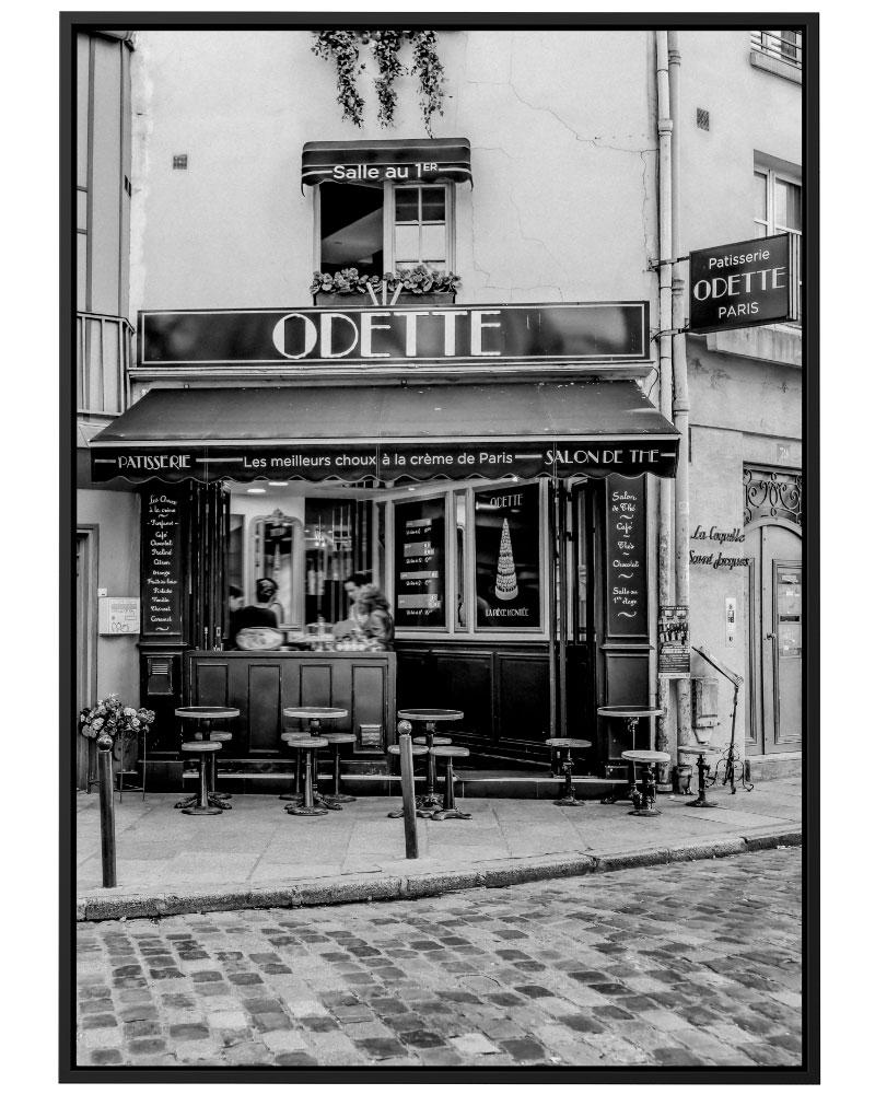 Quadro Odette Café
