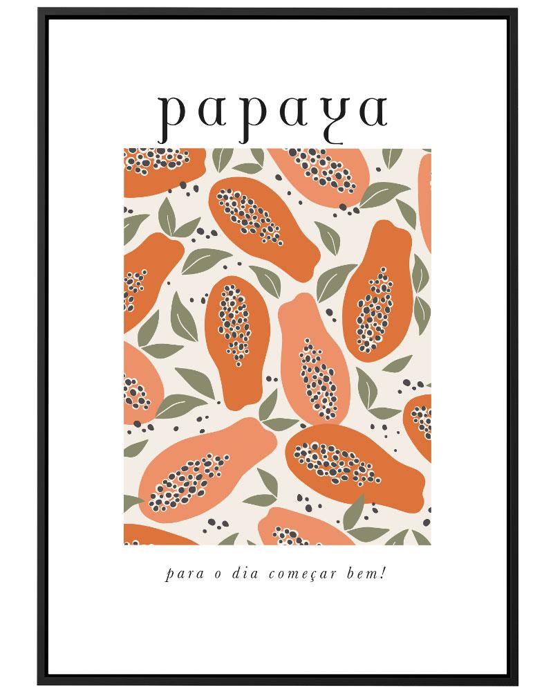 Quadro Papaya