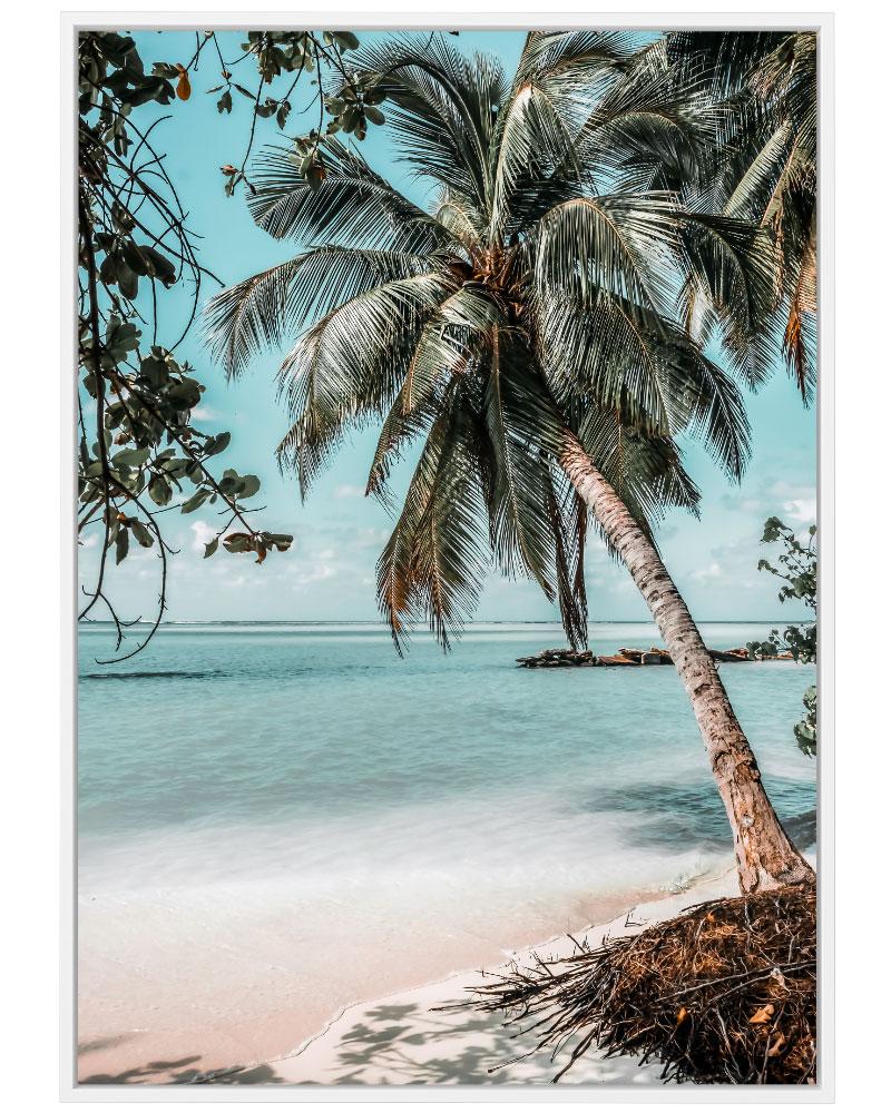 Quadro Paraíso Tropical