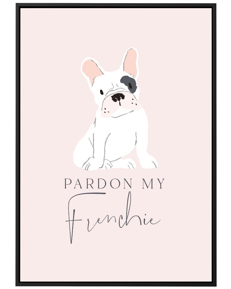 Quadro  Pardon My Frenchie