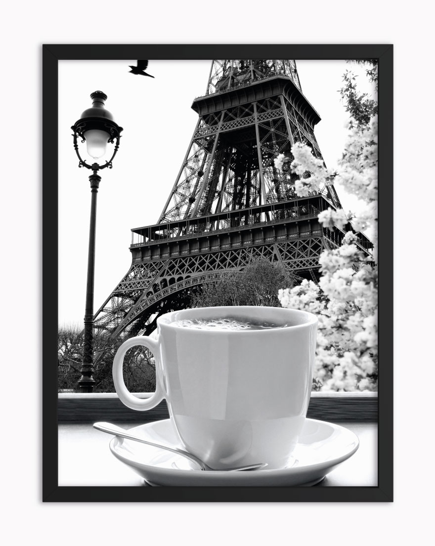Quadro Paris Coffee