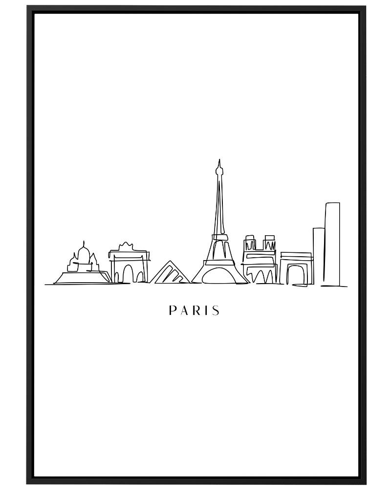 Quadro Paris Line
