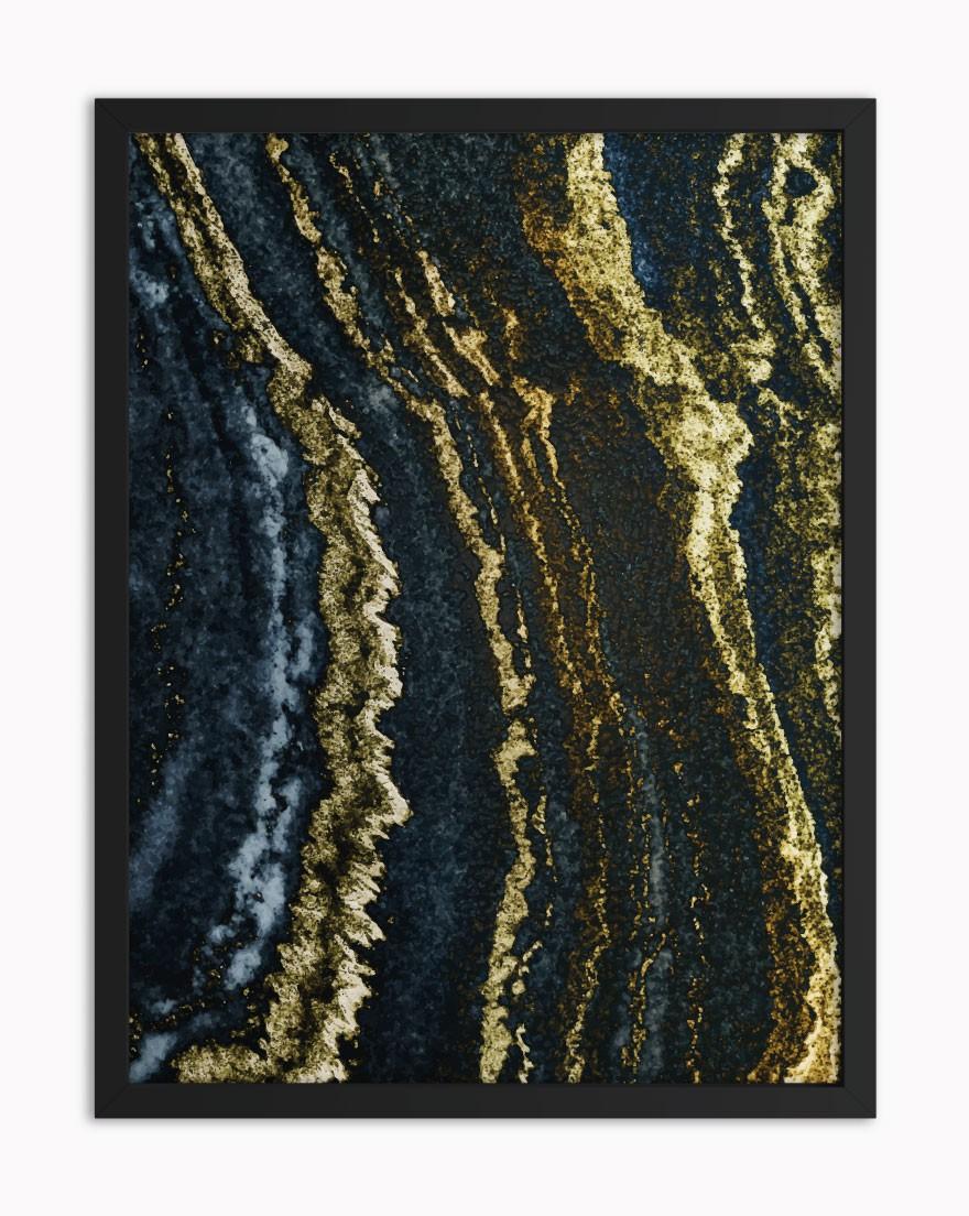 Quadro Pedra Dourada