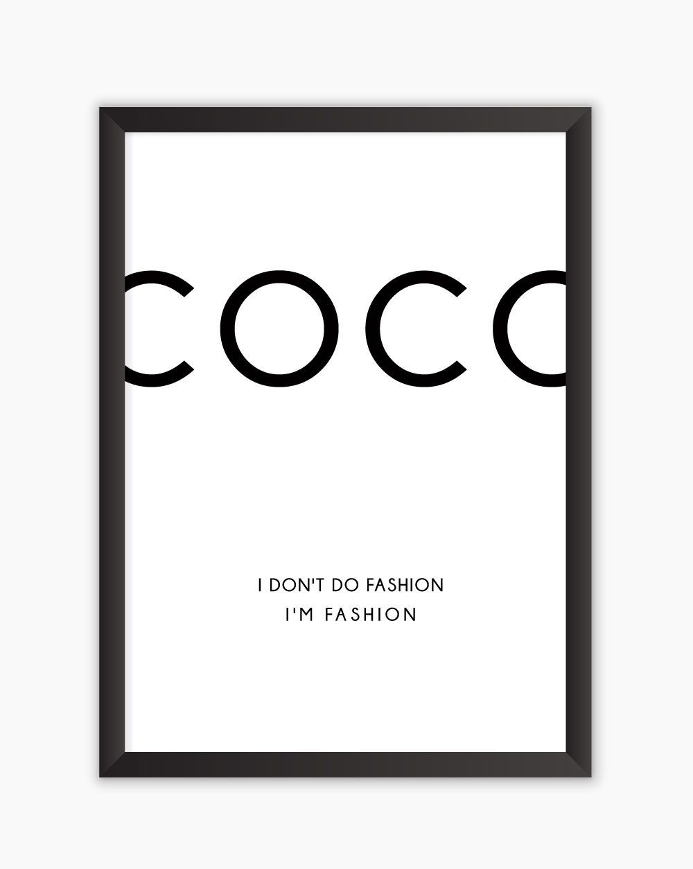 Quadro COCO Fashion