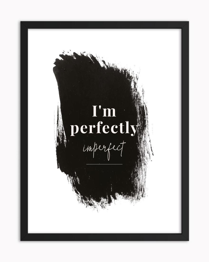 Quadro Perfeitamente Imperfeita