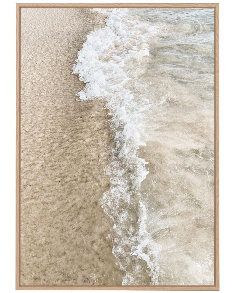 Quadro Pés na Areia