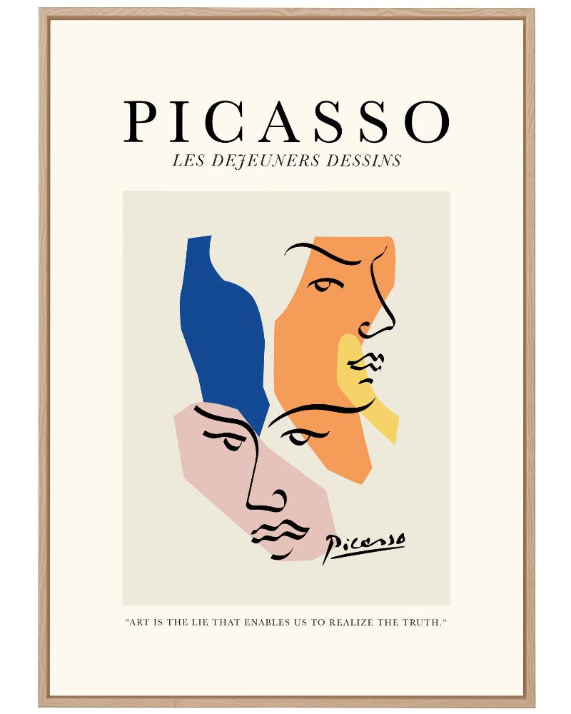 Quadro Picasso Dejeuners
