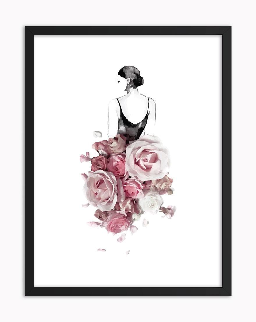Quadro Pink Floral Dress