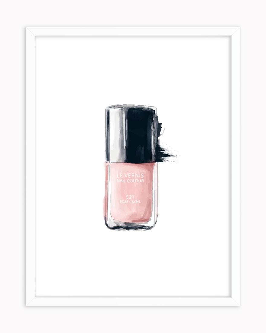 Quadro Pink Nails