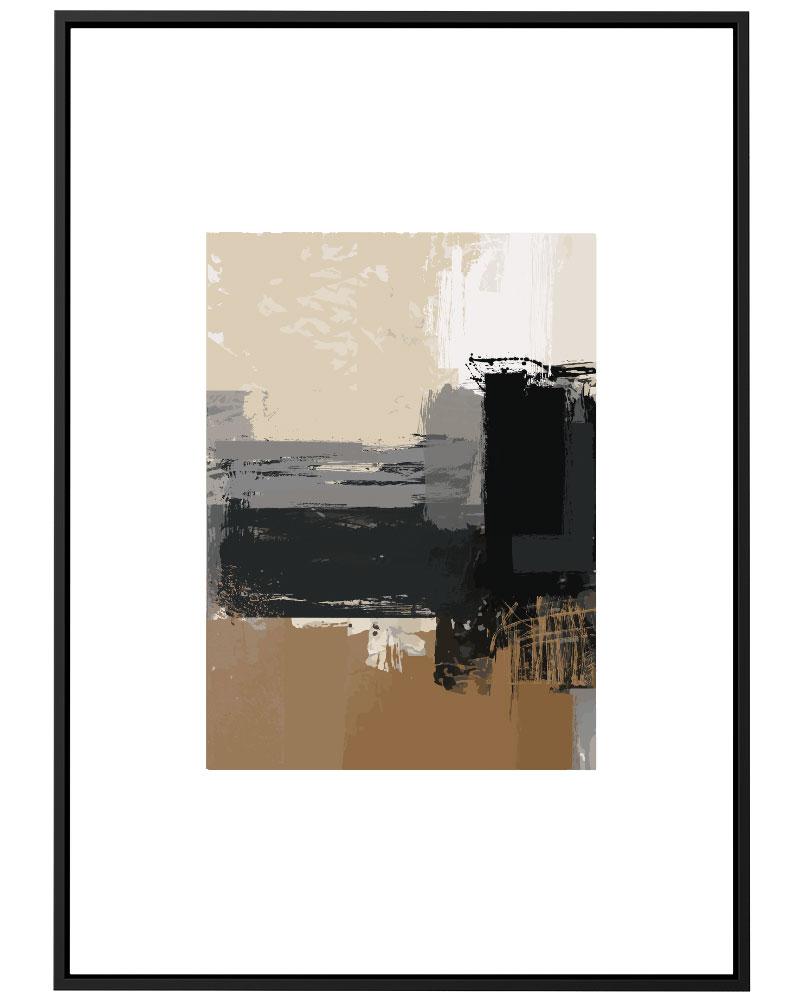 Quadro Pintura Abstrata