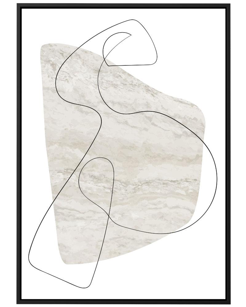 Quadro Pintura Minimalista III