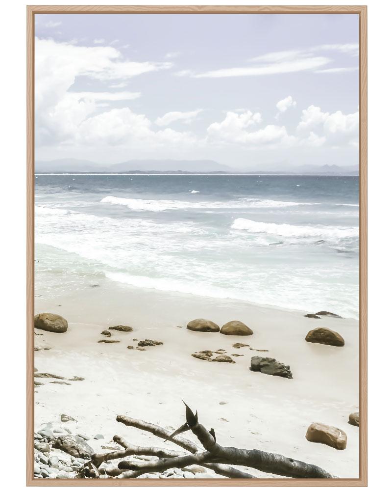 Quadro Praia Deserta
