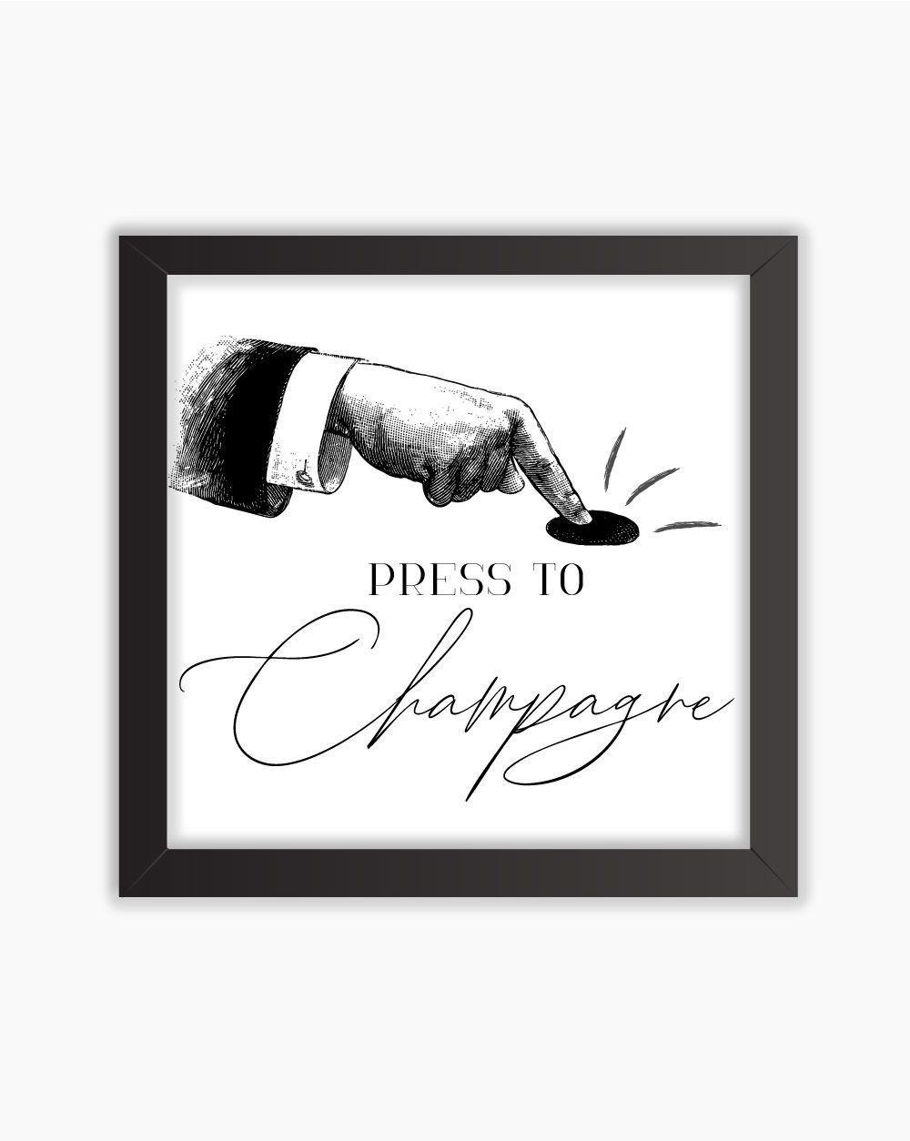 Quadro Press To Champagne