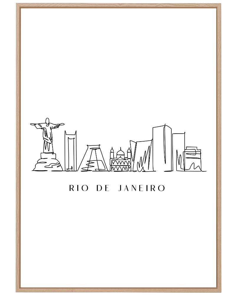 Quadro Rio de Janeiro Line