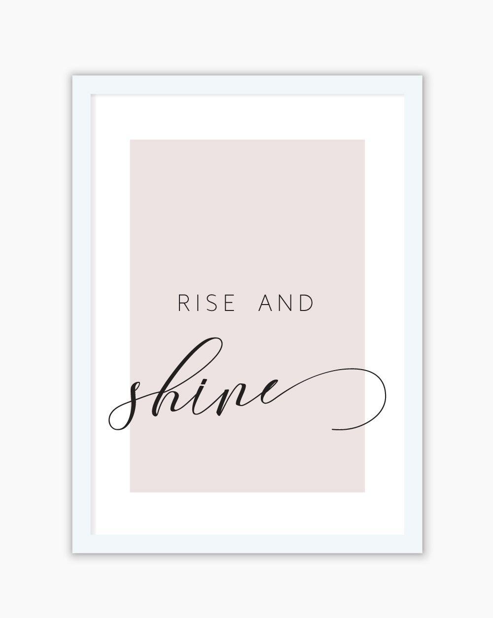 Quadro Rise And Shine