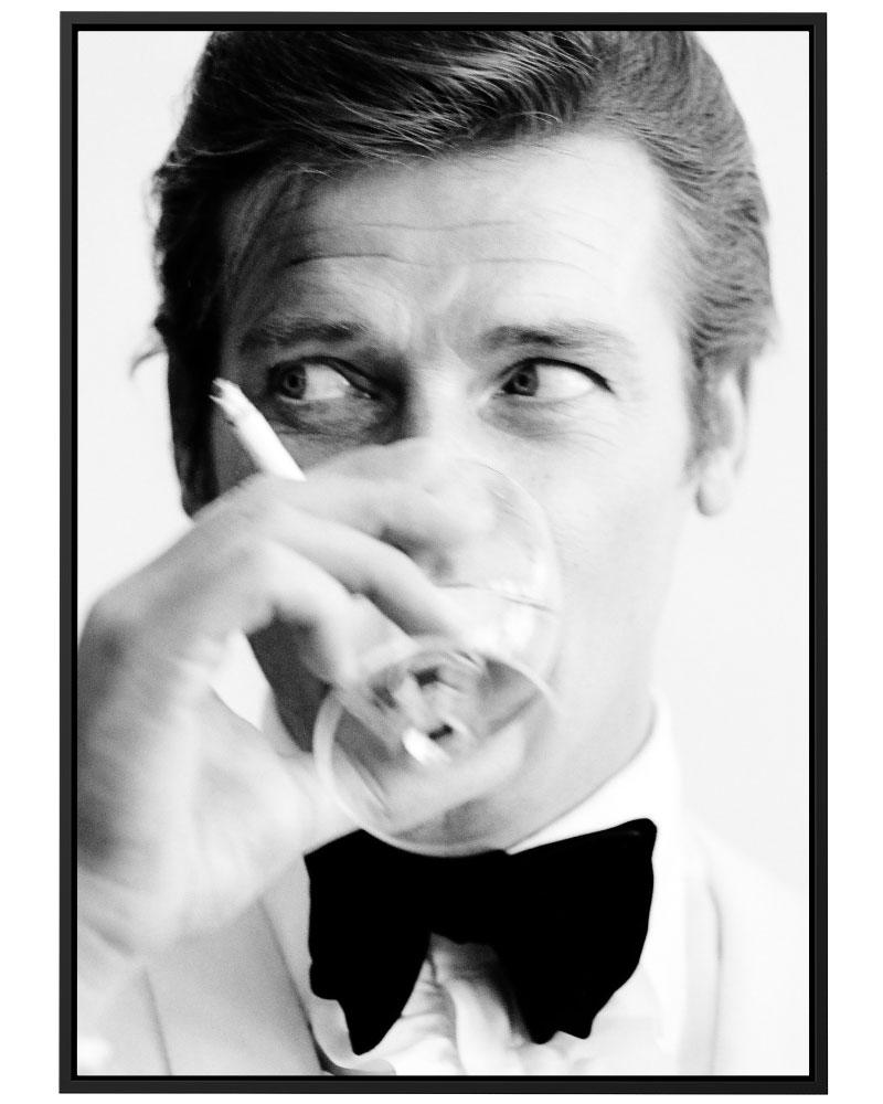 Quadro Roger Moore