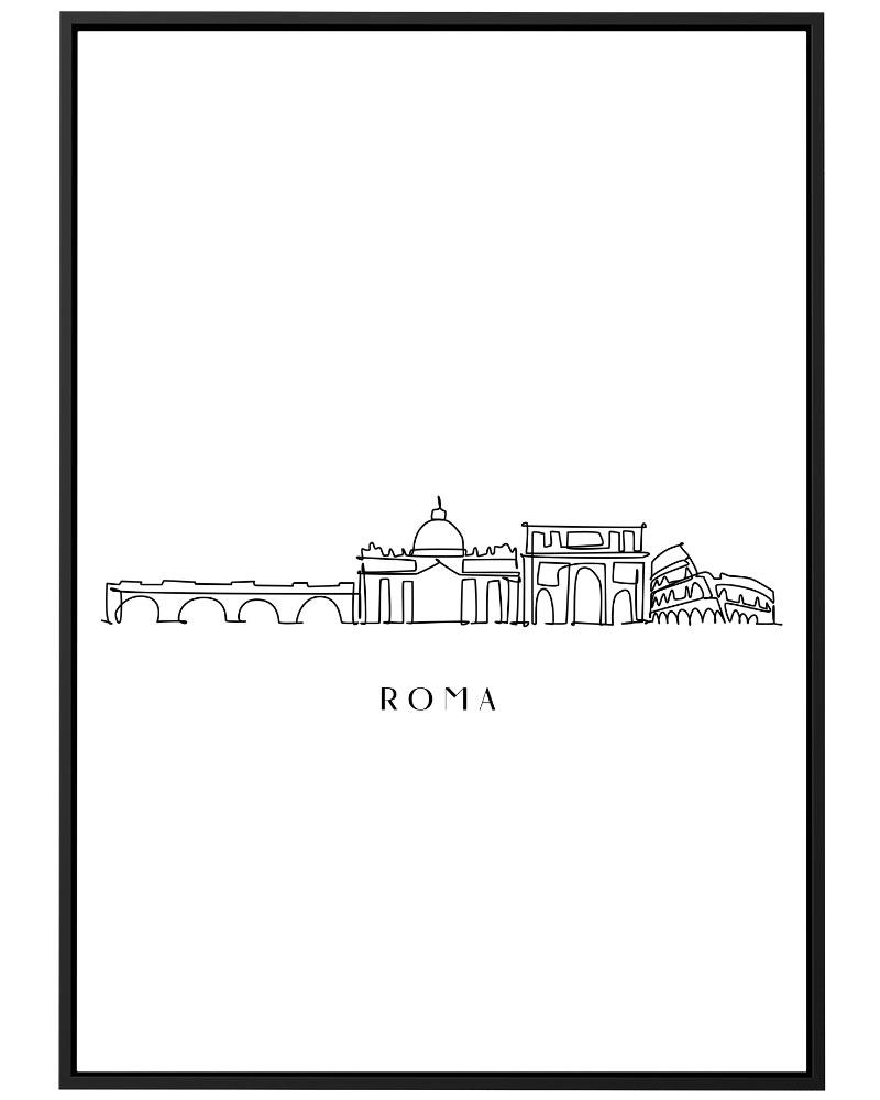 Quadro Roma Line