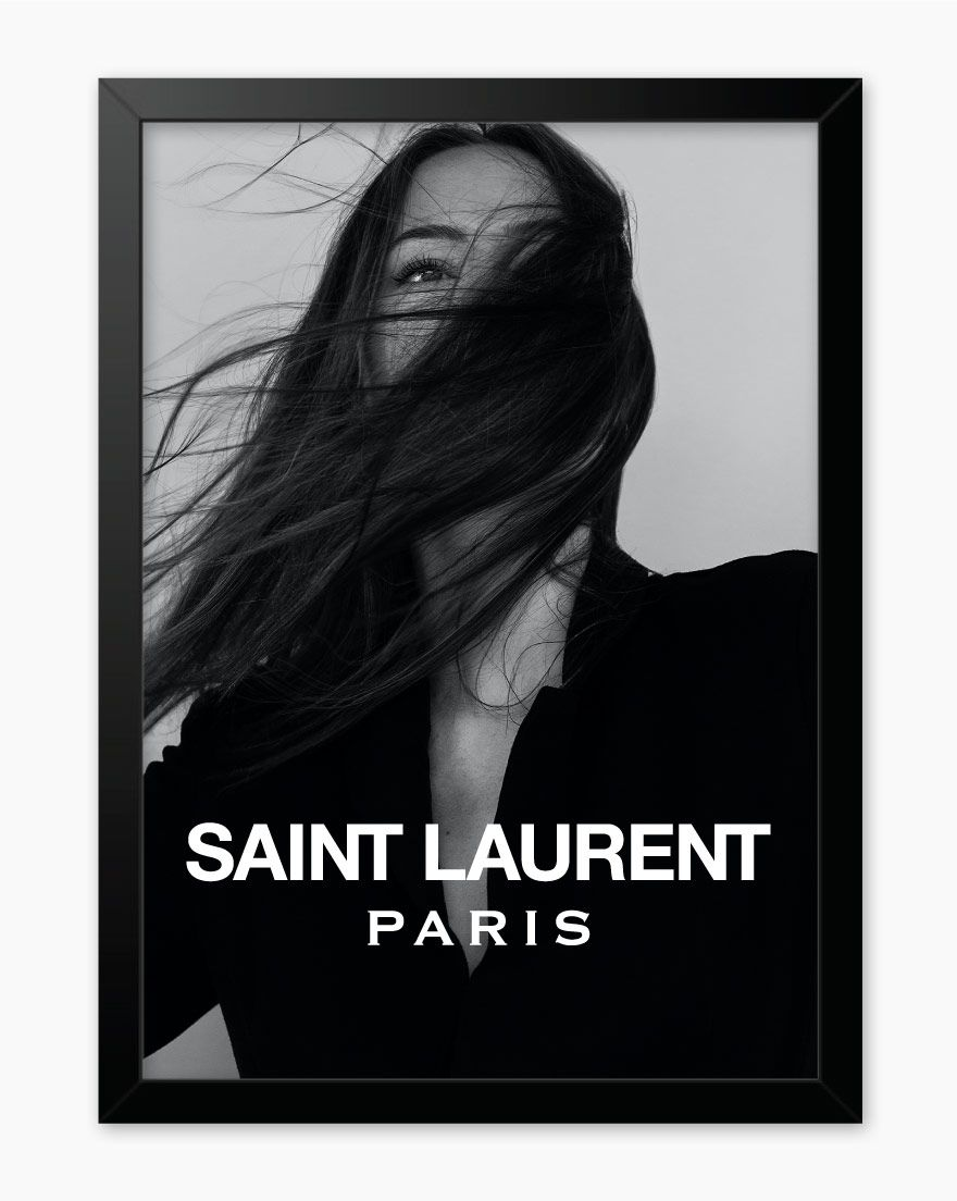 Quadro Saint Laurent Paris
