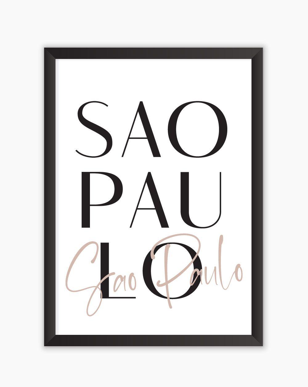 Quadro Sao Paulo