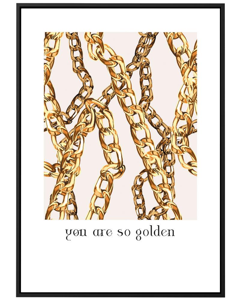 Quadro So Golden