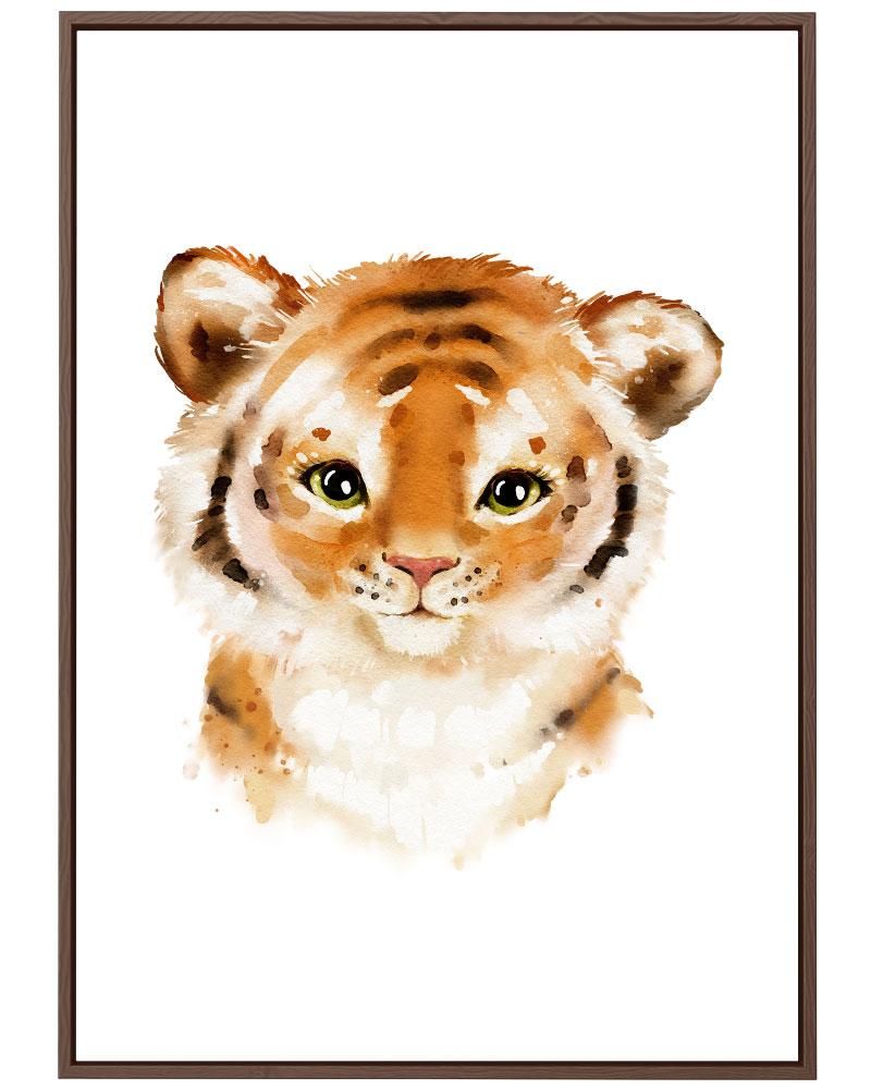 Quadro Tigre Baby
