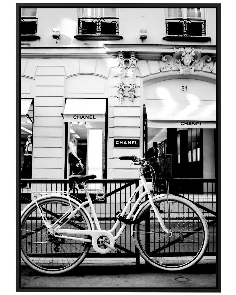 Quadro Um Passeio Por Paris