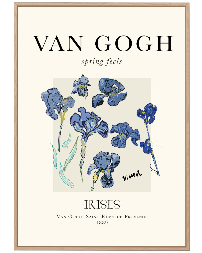 Quadro Van Gogh Irises