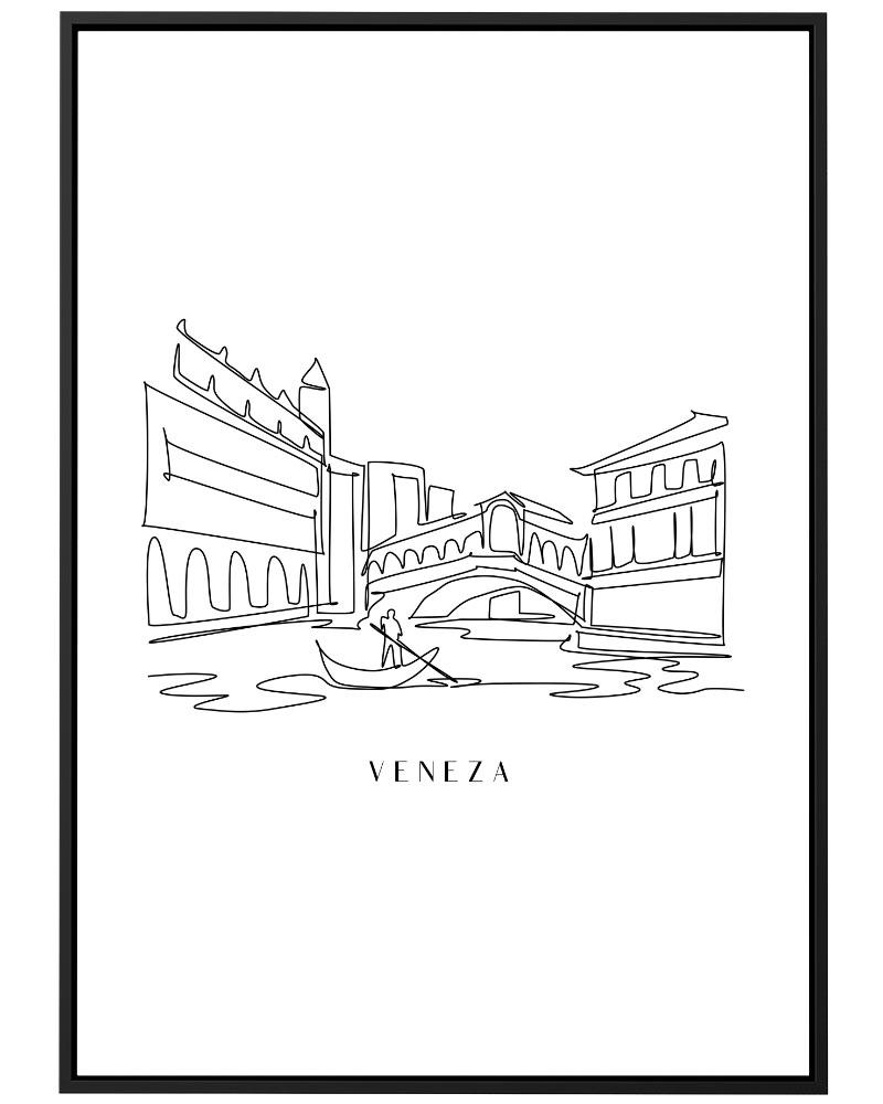 Quadro Veneza Line