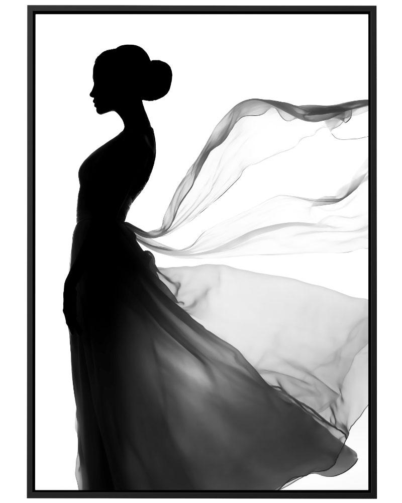 Quadro Vestido Esvoaçante