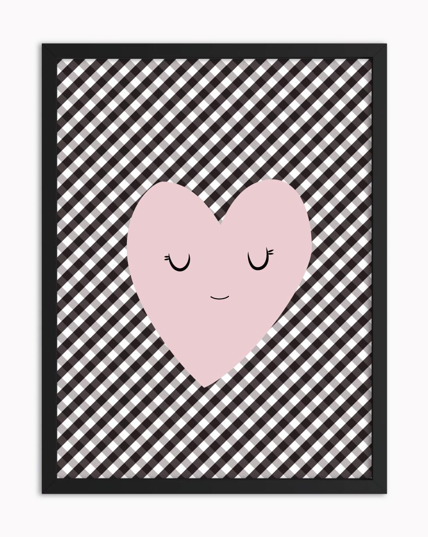 Quadro Vichy Heart