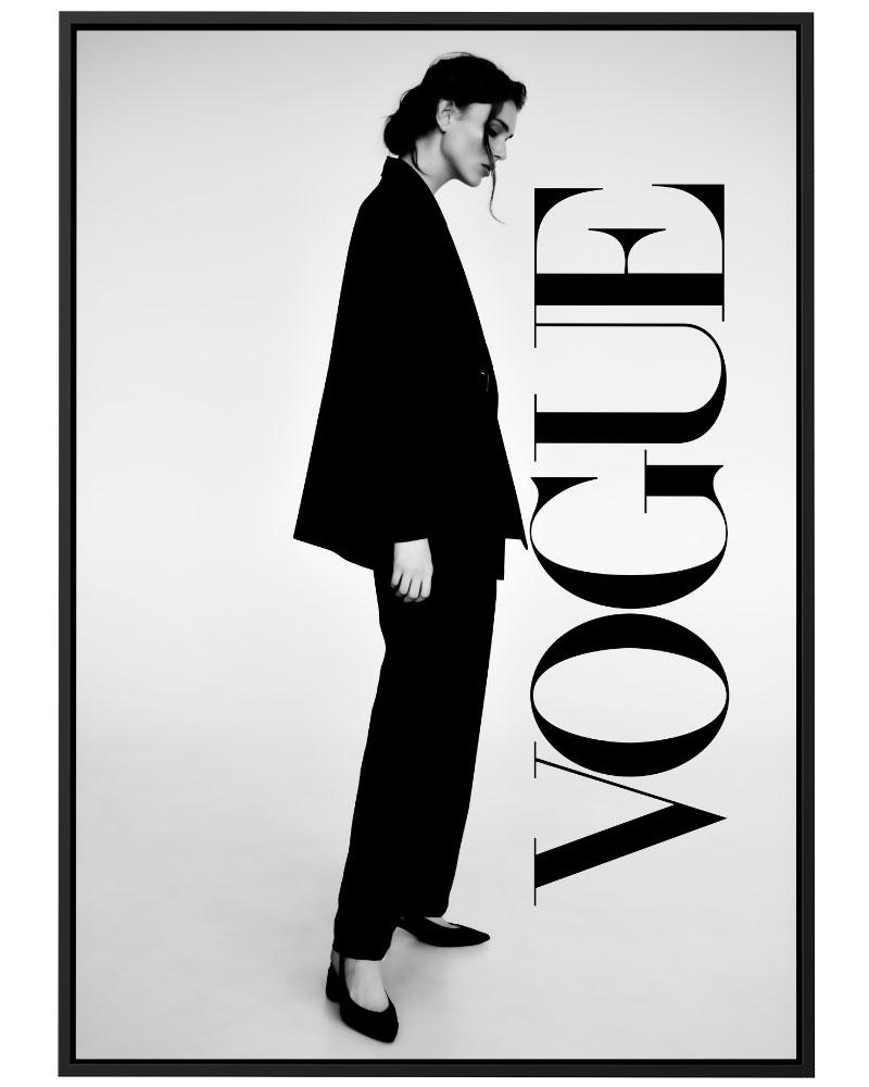 Quadro Vogue Model
