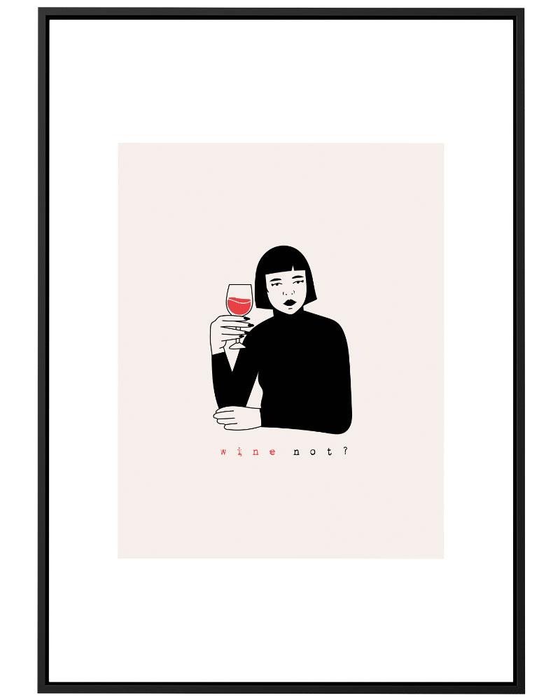 Quadro  Wine Not ?
