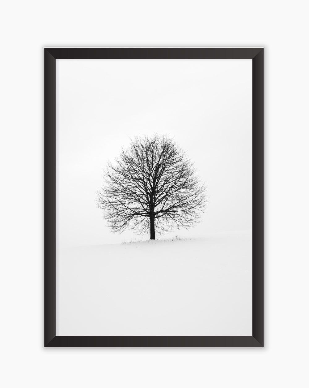 Quadro Winter Tree