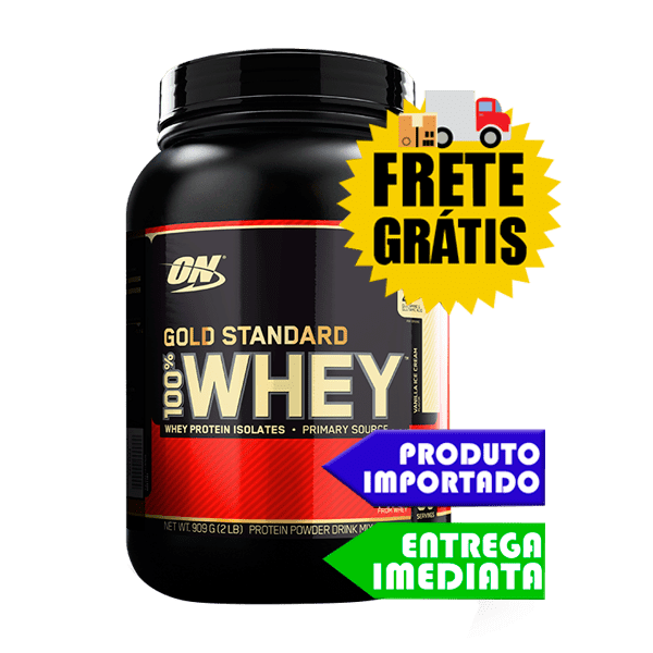 100% Whey Protein  - Optimum Nutrition (900gr)