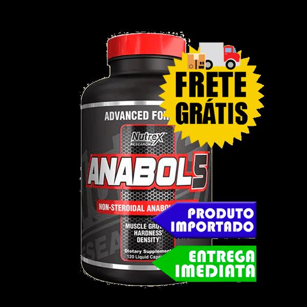 Anabol 5 - Nutrex (120 cápsulas)