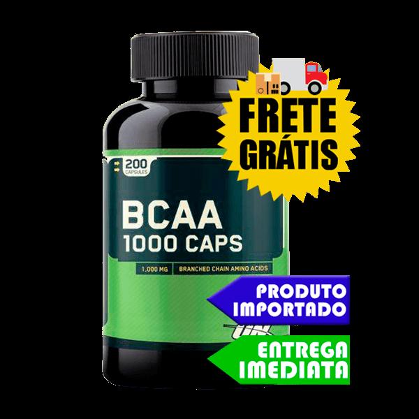 Bcaa 1000 - Optimum Nutrition (200 capsulas)