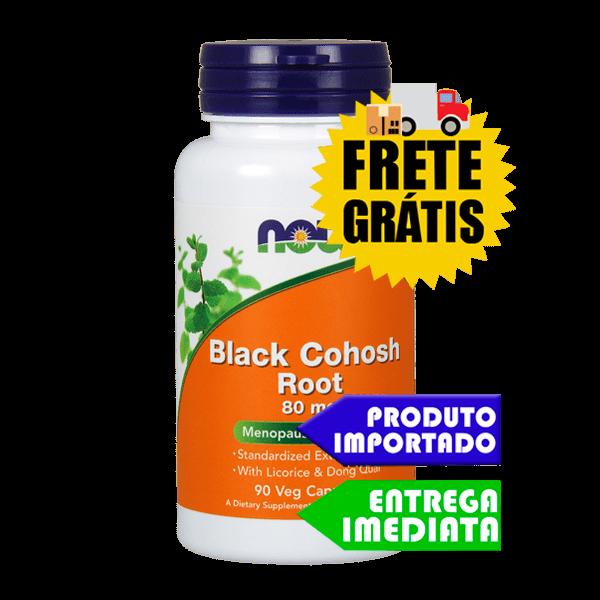 Black Cohosh - Now Foods (90 cáps)