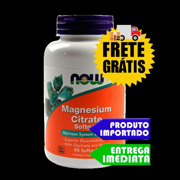 Citrato de Magnésio - Now Foods