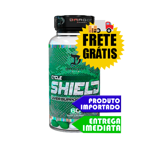 Cycle Shield - Dragon Pharma (60 cápsulas)