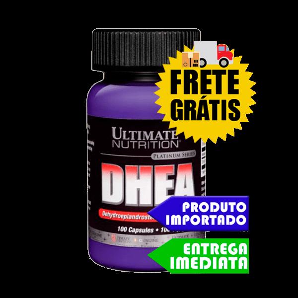 DHEA 100mg - Ultimate Nutrition (100 cápsulas)
