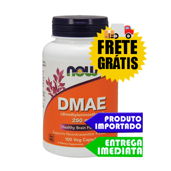 DMAE - Now Foods (250mg - 100cáps)