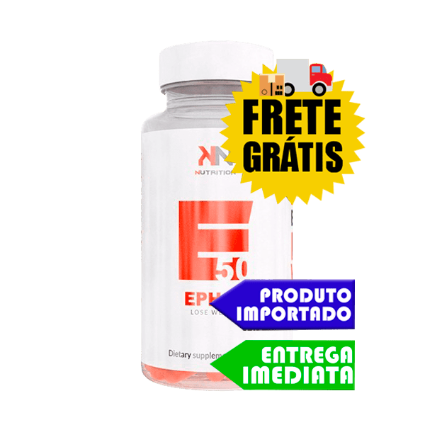 Ephedra EPH 50 - KN Nutrition (90 cápsulas)
