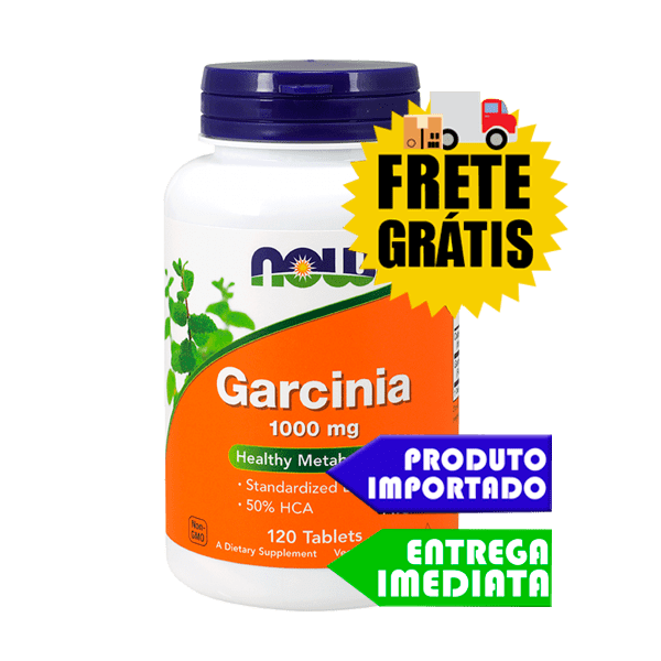 Garcinia Cambogia - Now Foods (1000mg - 120tabs)