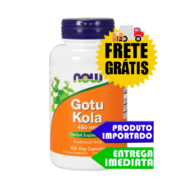 Gotu Kola - Now Foods (450mg 100cáps)