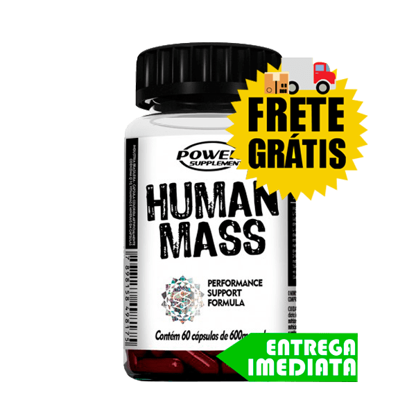 Human Mass - Power Supplements (60 Cáps)