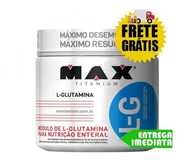 L-Glutamina - Max Titanium (300gr)