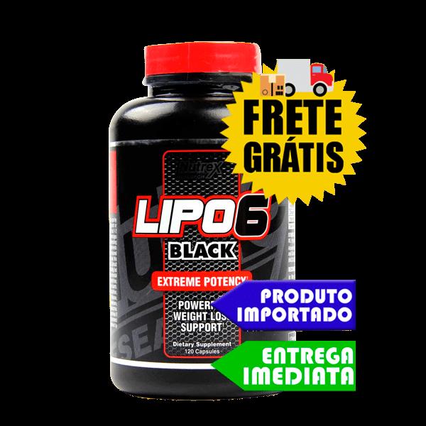 Lipo 6 Black Ultra Concentrado - Nutrex (72 cápsulas) (Importado)