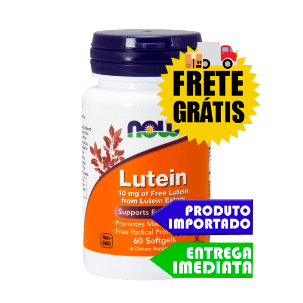 Luteína - Now Foods (60 cáps)