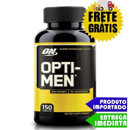 Opti Men - Optimum Nutrition (150 Comprimidos - IMPORTADO)